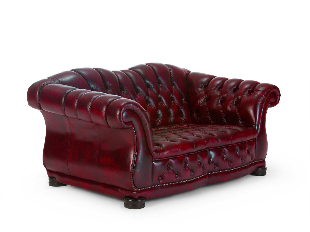 massivum sofa chesterfield aus echtleder. Black Bedroom Furniture Sets. Home Design Ideas