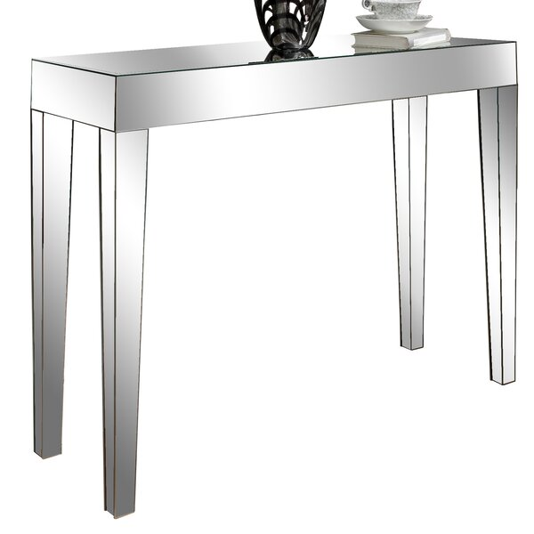 Mirrored Console Tables Wayfair Co Uk