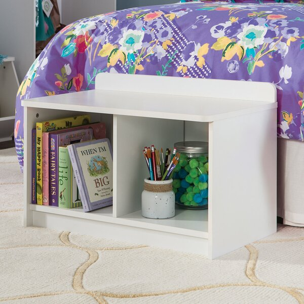 Bookshelf With Reading Nook Wayfair