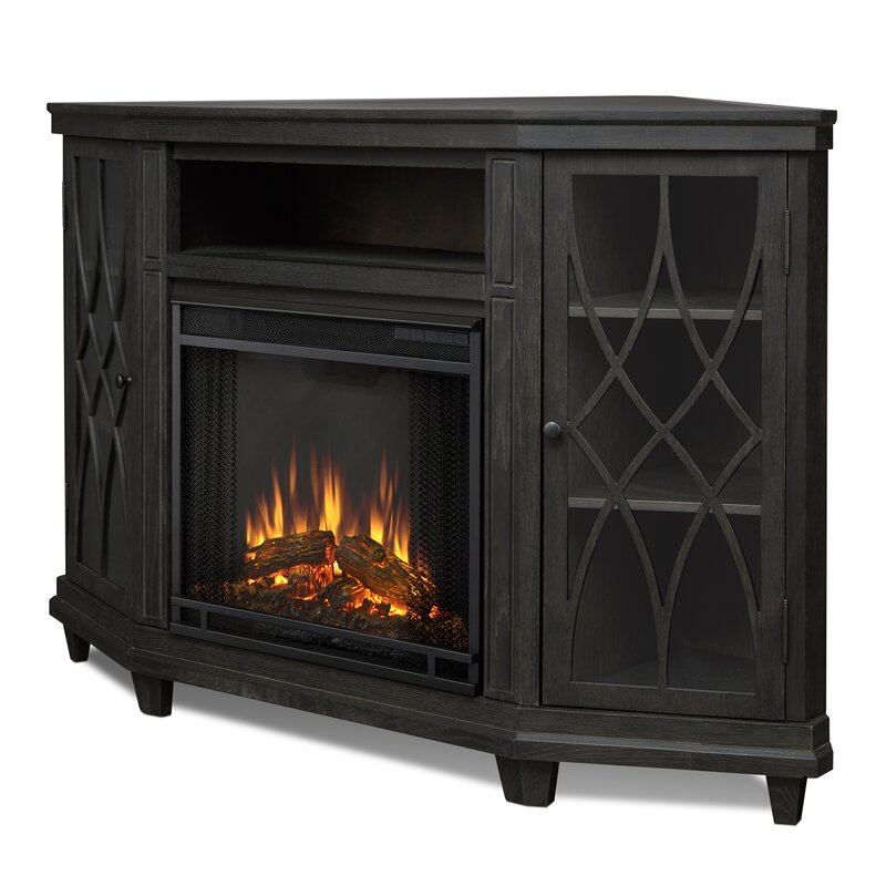 Real flame lynette corner electric fireplace tv stand reviews lynette corner electric fireplace tv stand teraionfo