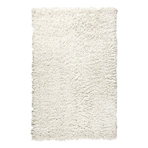 Shag Hand-Tufted Cream Area Rug