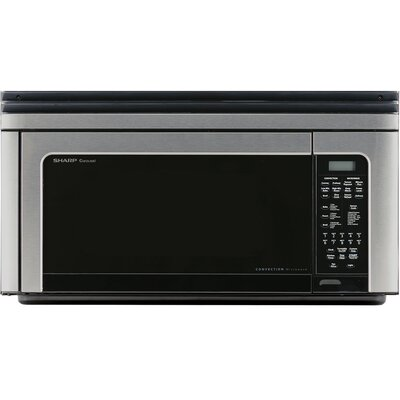 29 1.1 cu.ft. Over-The-Range Microwave Oven Sharp