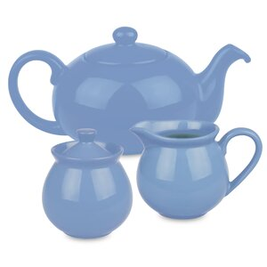 Chartridge 3 Piece Ceramic Bell Tea Set