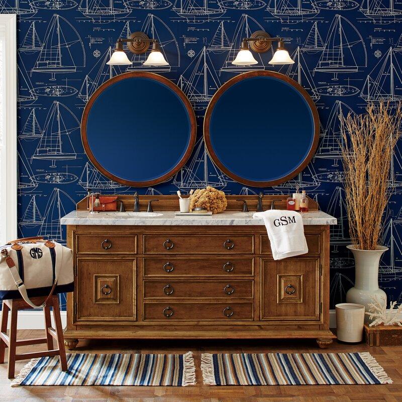 double bathroom vanity set. Mykonos Denton 72  Double Bathroom Vanity Set Birch Lane Reviews