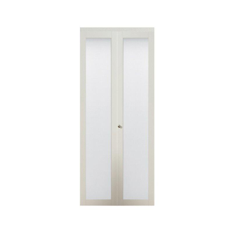 Baldarassario Wood 2 Panel Painted Bi Fold Interior Door