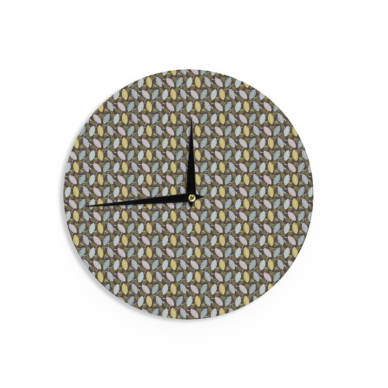 East Urban Home Julie Hamilton Moss Canopy 12 Wall Clock Wayfairca