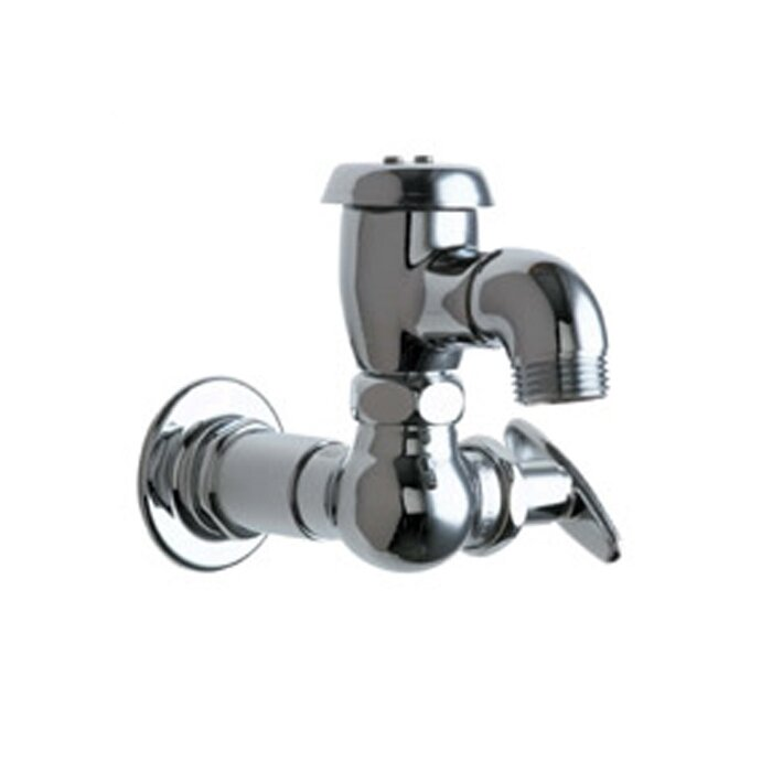 Chicago Faucets Manual Wall Mounted Service Sink Faucet with ...