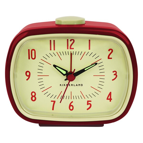 Superb Kikkerland Retro Alarm Tabletop Clock U0026 Reviews | Wayfair