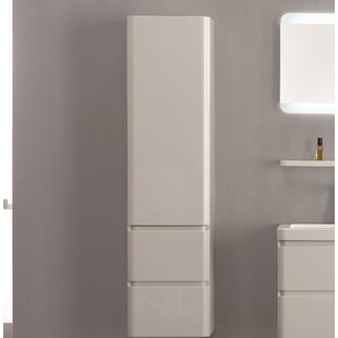 Banderas 40 X 155cm Wall Mounted Tall Bathroom Cabinet