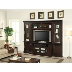 Koval Transitional Wood Entertainment Center by World Menagerie