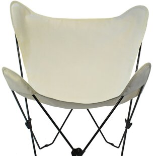 Cowhide Butterfly Chair | Wayfair
