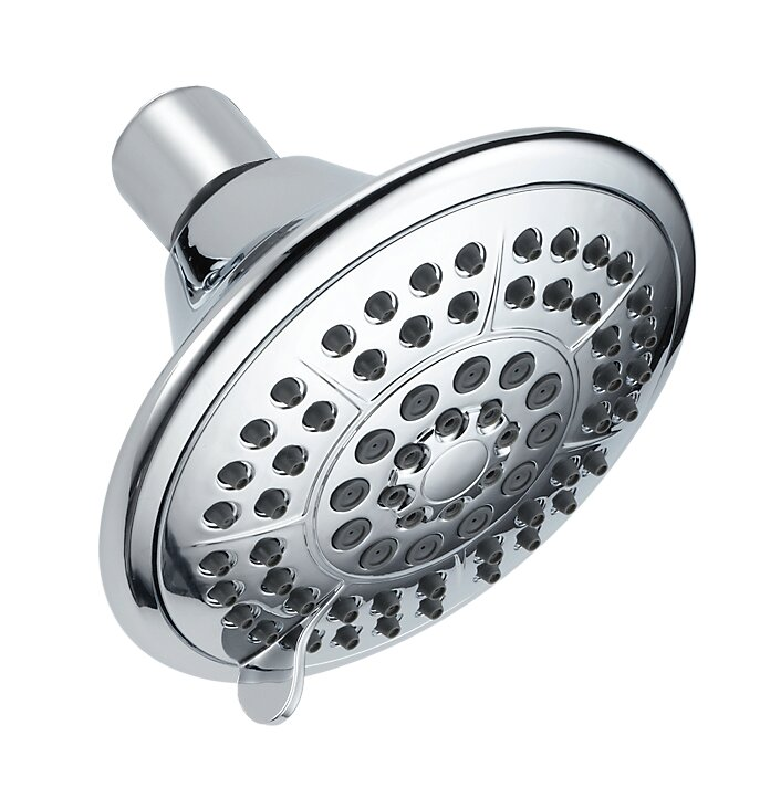 Delta Universal Showering Components 5 Setting 2 GPM Shower Head ...