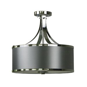 Pauline 3-Light Semi Flush Mount