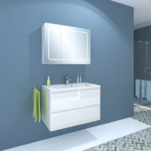 Melanie 3 Piece Bathroom Furniture Set von Belfr..