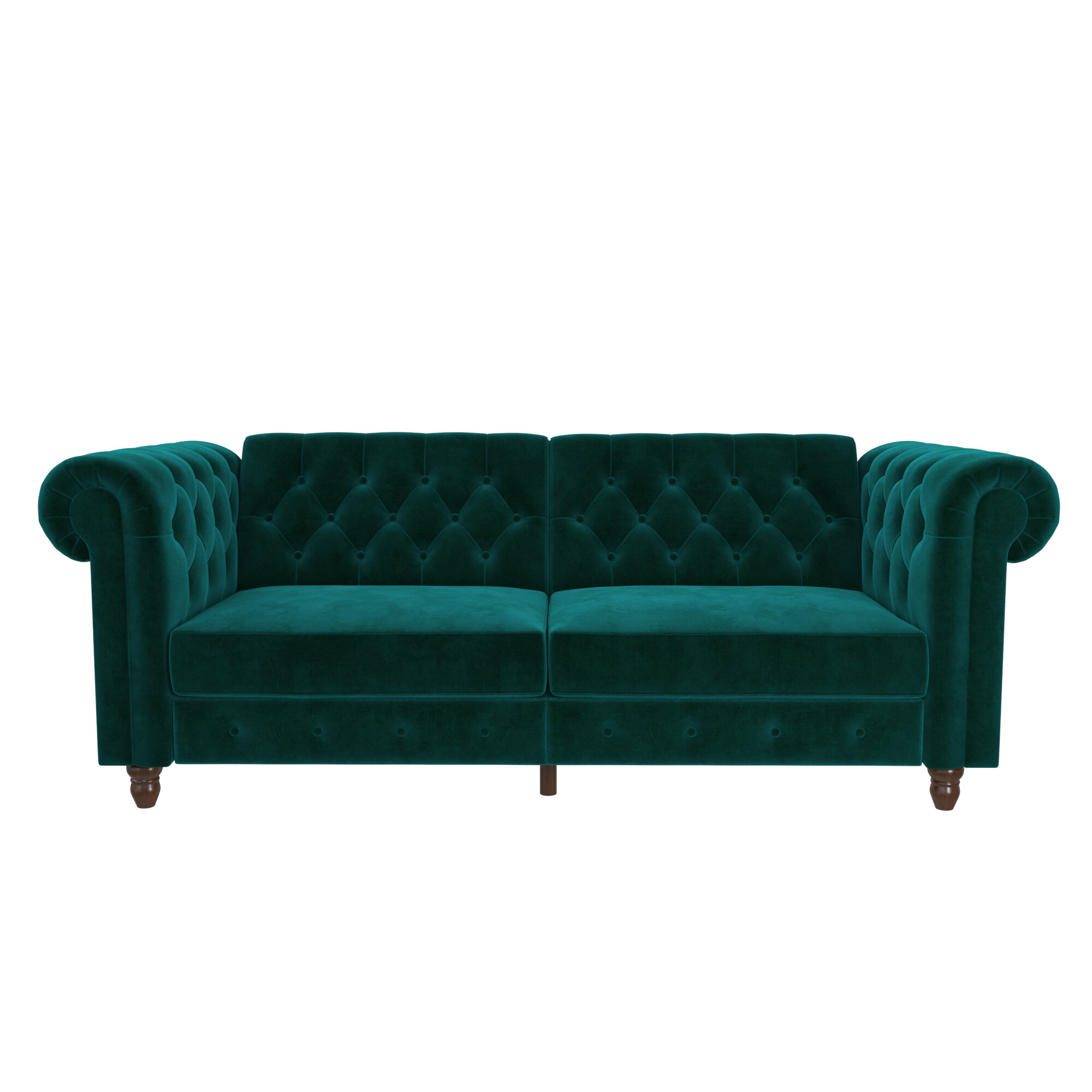 Aranza Chesterfield Convertible Sofa & Reviews | Joss & Main