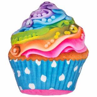 c9dfc8ae452 Hardnett Rainbow Cupcake Pillow