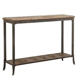 Lucia 2 Tier Rectangle Console Table
