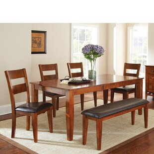 Mango 6 Piece Extendable Dining Set Wonderful