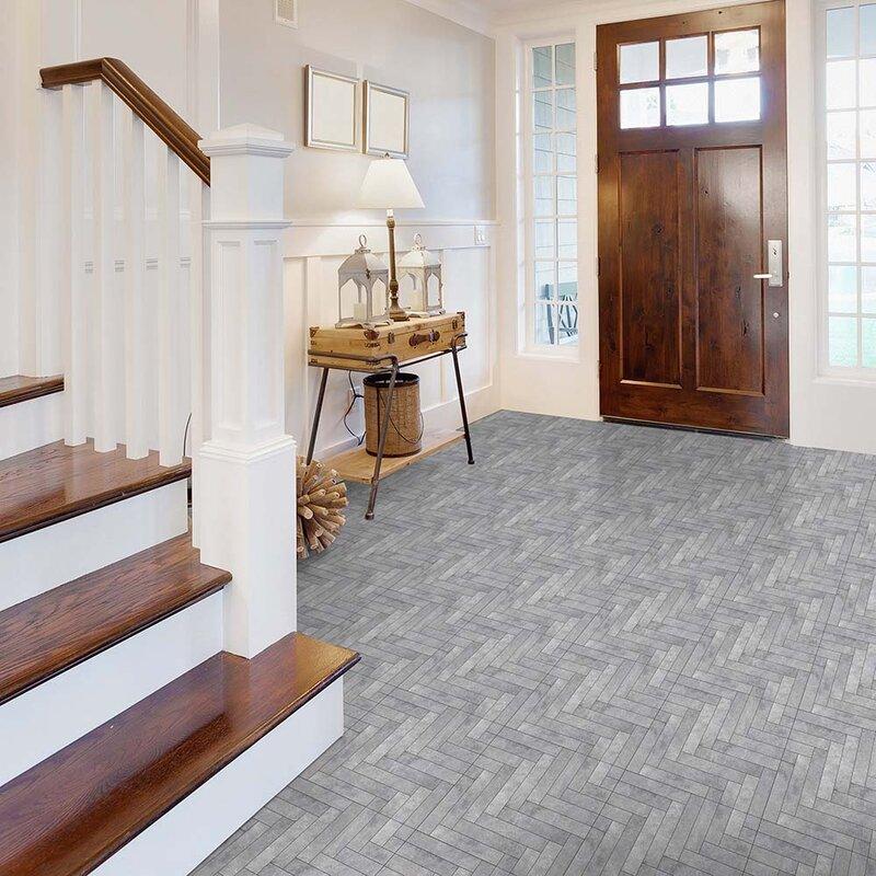 Perfection Floor Tile Master Mosaic 20 Quot X 20 Quot X 5mm Luxury Vinyl Tile Amp Reviews Wayfair