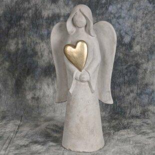 Elegant Cement Angel Statue