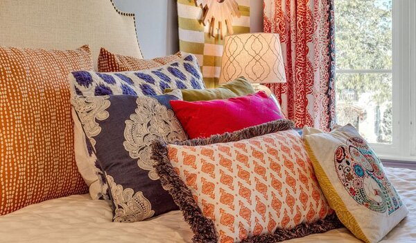 How To Decorate With Colorful Accent Pillows Wayfair