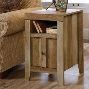 Signal Mountain End Table With Storage
