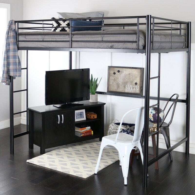 Pictures Of Loft Beds viv + rae maurice full loft bed & reviews | wayfair