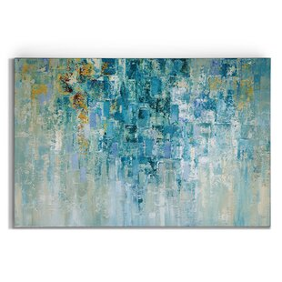 86fd4bb0c73d 'I Love the Rain' Painting Print on Wrapped Canvas. by Ebern Designs