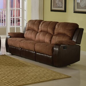 Pamela Microsuede Reclining Sofa by Beverly Fine Furniture
