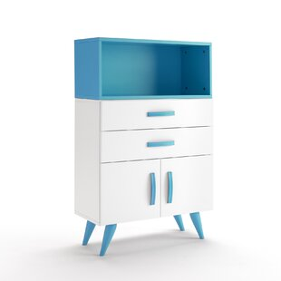 Pamplona 2 Drawer Chest of Drawers by Just Kids