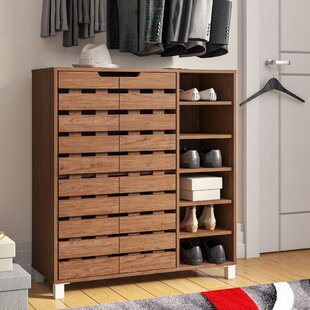 18 Pair Shoe Storage Cabinet