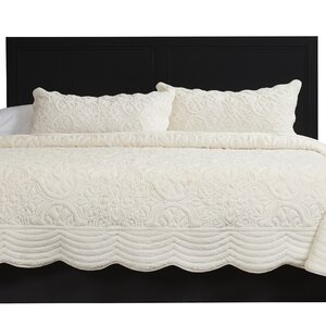 Charlotte 3 Piece Coverlet Set