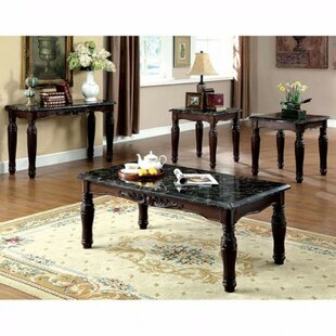 Fredrika Faux Marble Top 3 Piece Coffee Table Set  sc 1 st  Wayfair & Faux Marble Coffee Table Set | Wayfair