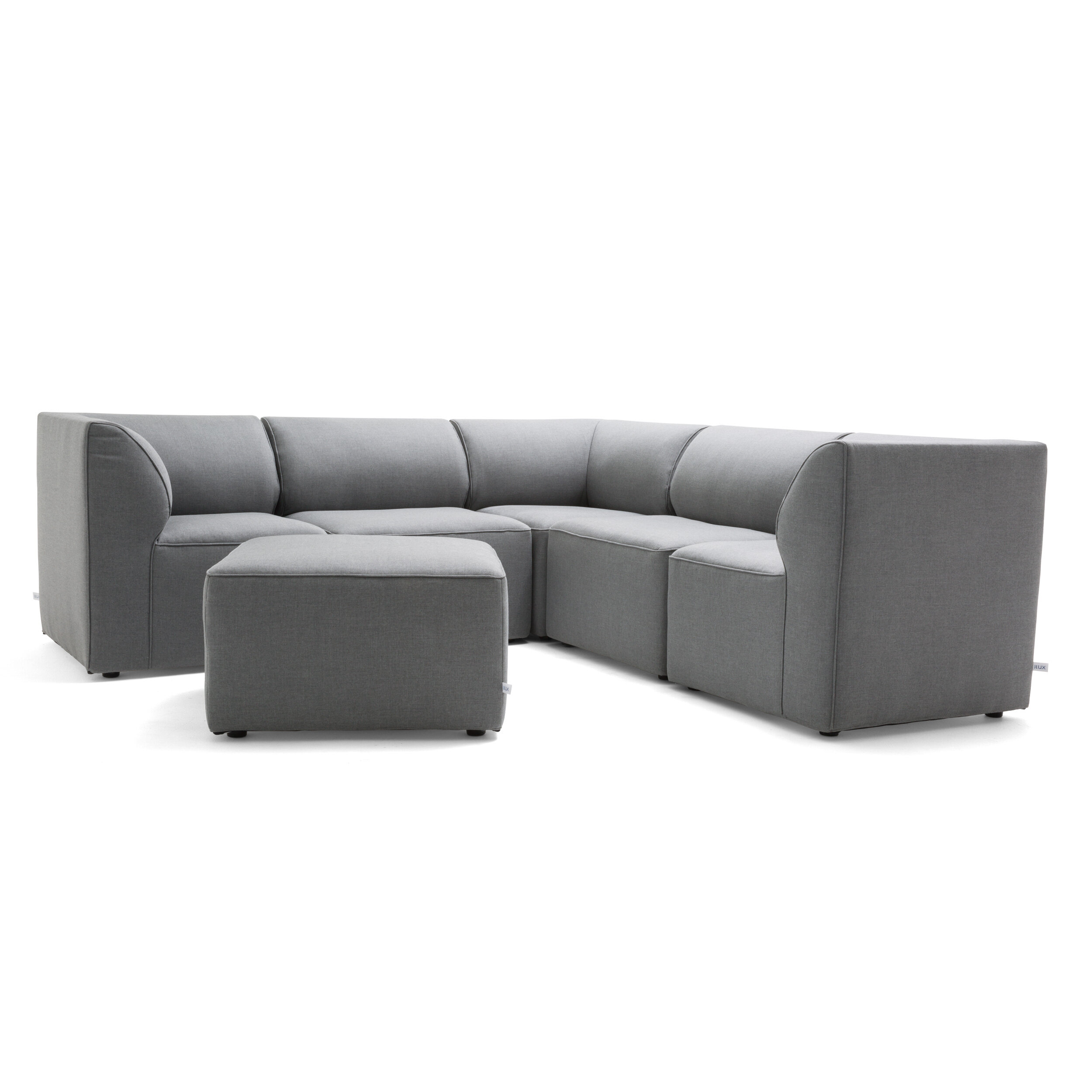 225 & Comfort Research Big Joe Patio Sectional with Cushions ...