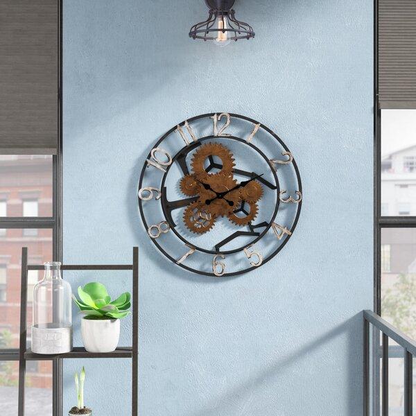 Trent Austin Design Gears Wall Clock Amp Reviews Wayfair