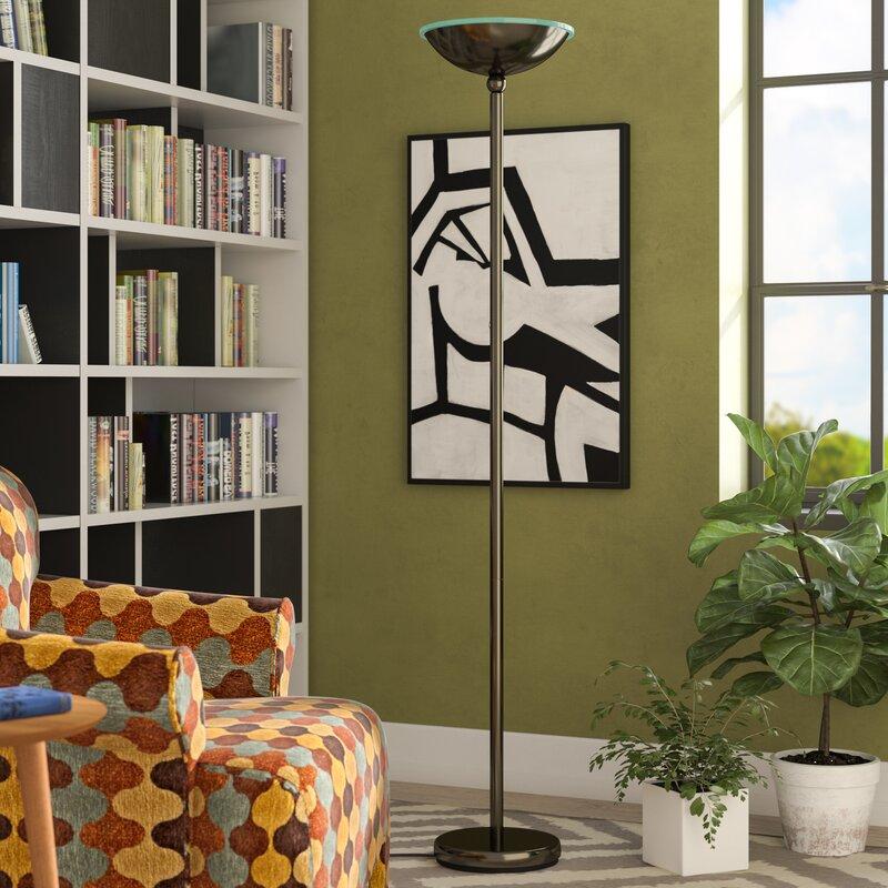 pdp reviews lighting lamp led floor allmodern torchiere floors