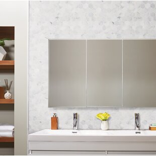 "Calacatta Cressa Hex Honed 2"" x 2"" Marble Mosaic Tile in White"