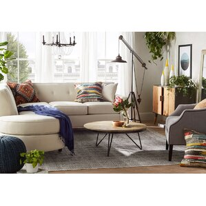 Vernon Elizabeth Sectional by Rosecliff Heights