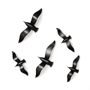 Flying Birds Wall Decor metal birds wall decor | wayfair