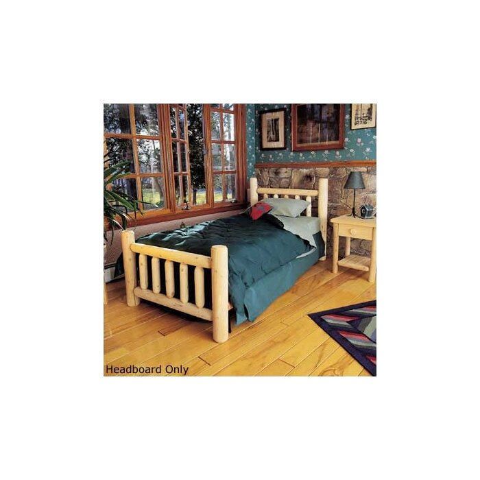 bed furniture rustic log product bedroom