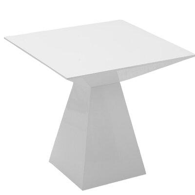 Brayden Studio Danley End Table Color: White