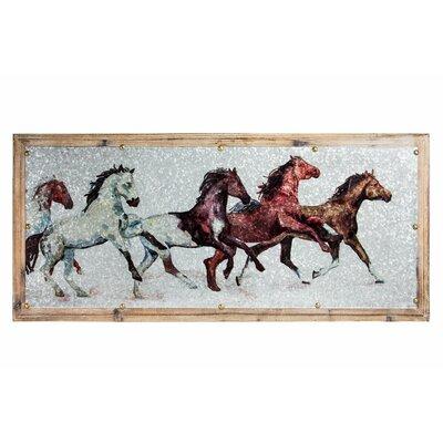 Running Horses Wall Art | Wayfair