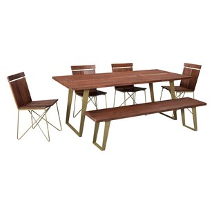 Yeager Solid Wood Dining Table