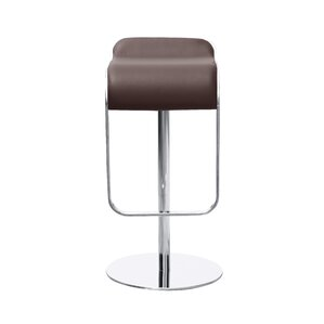 Lem Adjustable Height Swivel Bar Stool by Fine Mod Imports