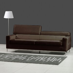 Alison Leather Sofa by Bellini Modern Living