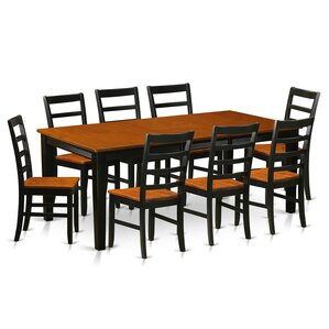 Loraine 9 Piece Dining Set by Red Barr..