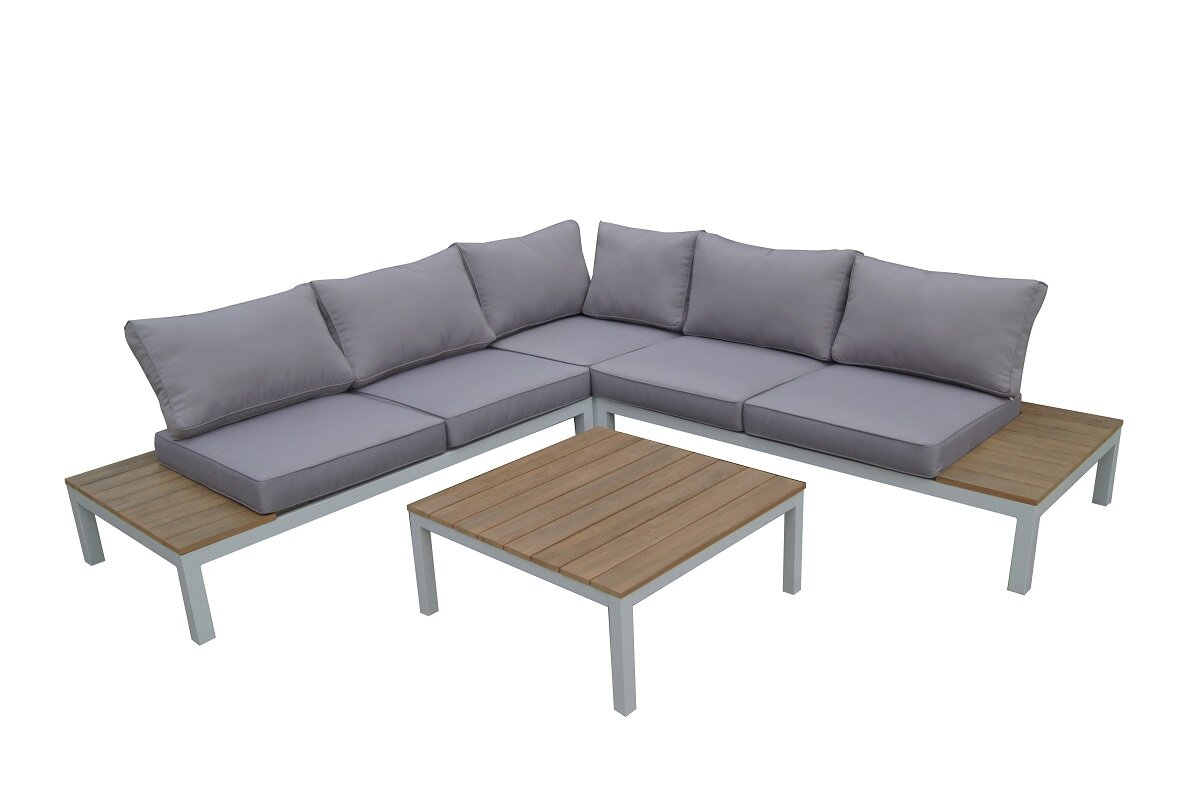 W Unlimited Celio 4 Piece Sectional Seating Group with Cushions