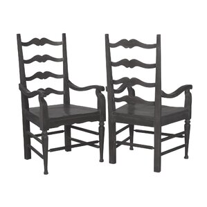 Joby Arm Chair (Set of 2) by Gracie Oaks