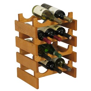 Dakota 12 Bottle Floor Wine Rack