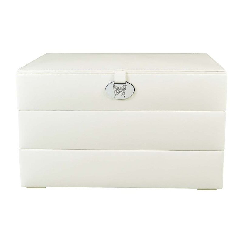 Stackable Leatherette Jewelry Box